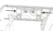 imagen de los conectores de luz y bomba del orbit 20